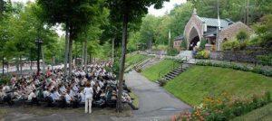 Sanctuaire de Lourdes - Rigaud - Célébration