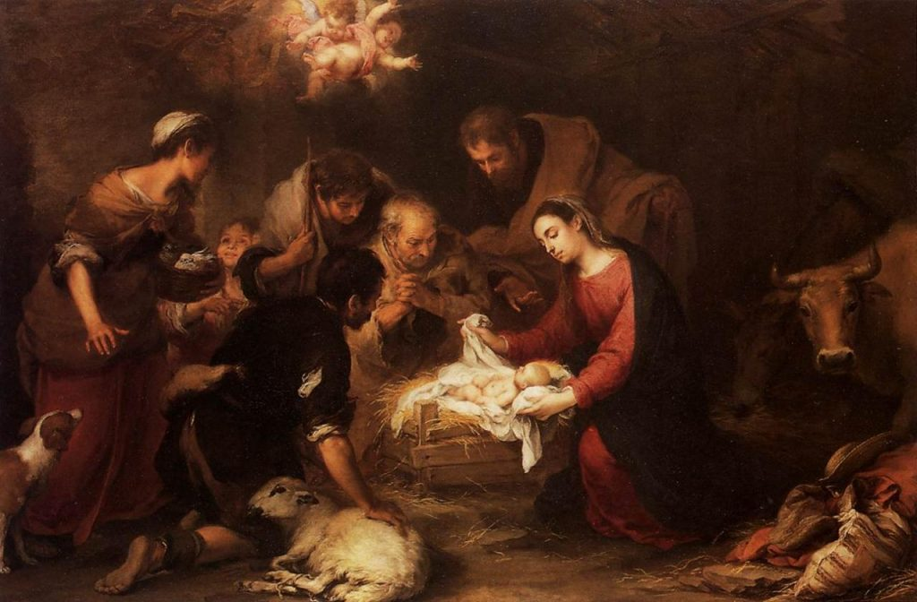 Murillo - Adoration des bergers