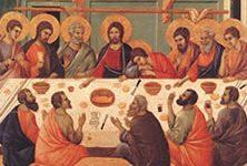 Duccio di Boninsegna - Dernière Cène