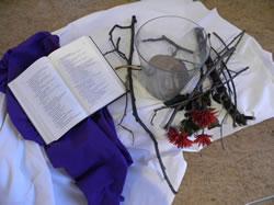 Bible, fleurs et cendres