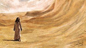Jésus dans le désert