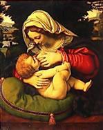 Marie et son enfant, Jésus