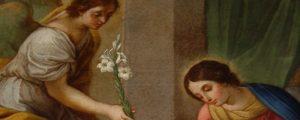 Salutation de l'ange - Accueil de Marie