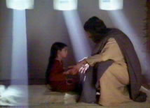 Jésus réanisme une jeune fille