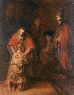 Parabole du fils prodigue - Fils aîné