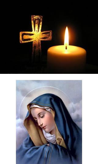 Croix, lumière, Marie, grâces