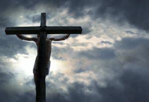 Jésus en croix