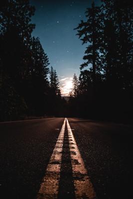 Route vers la lumière
