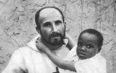 Charles de Foucauld et enfant
