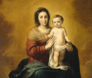Mary and son