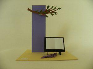 Bible, arbre, bricolage